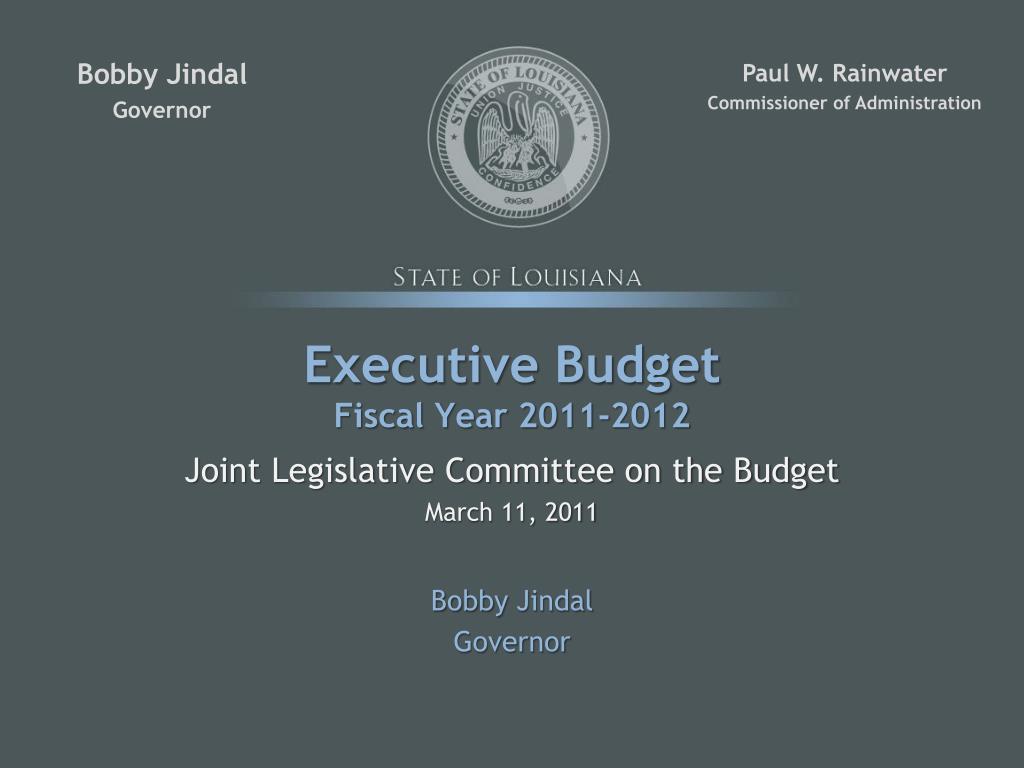 Executive Budget