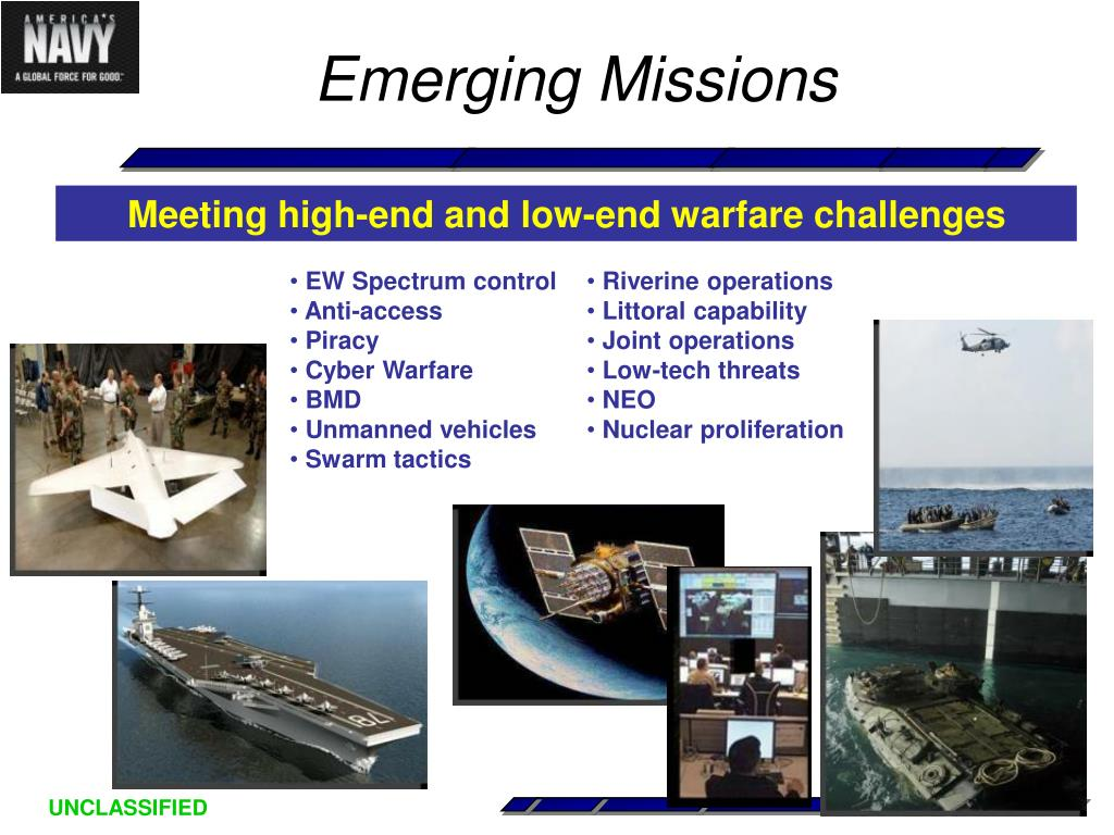 Emerging Missions