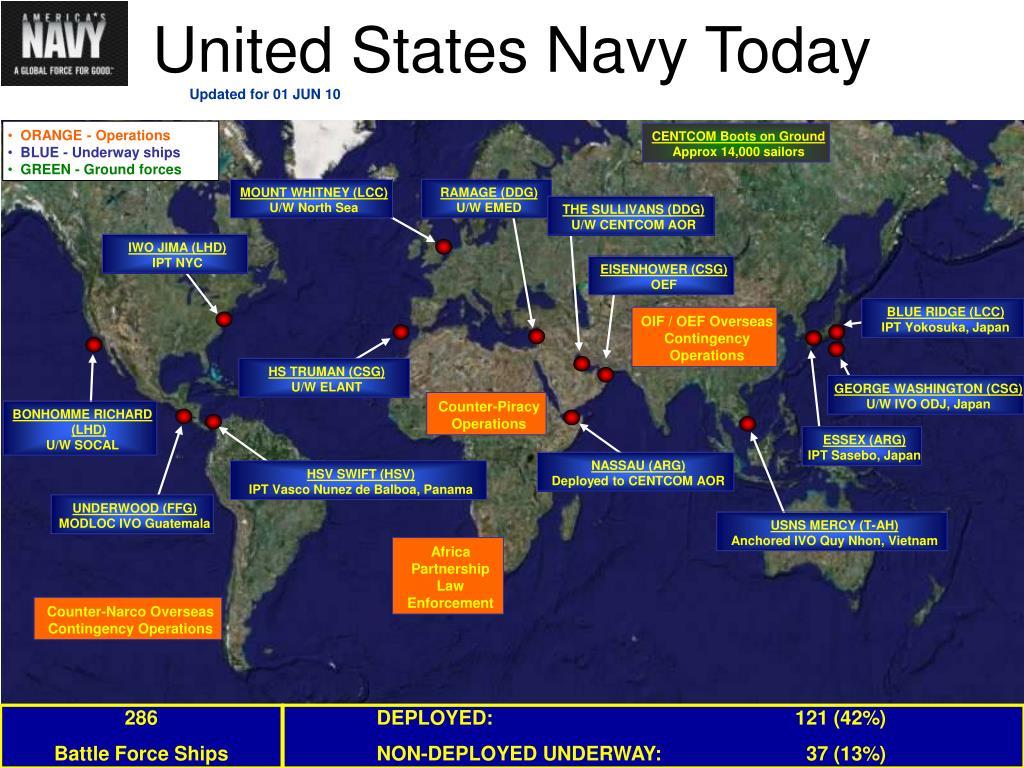 United States Navy Today