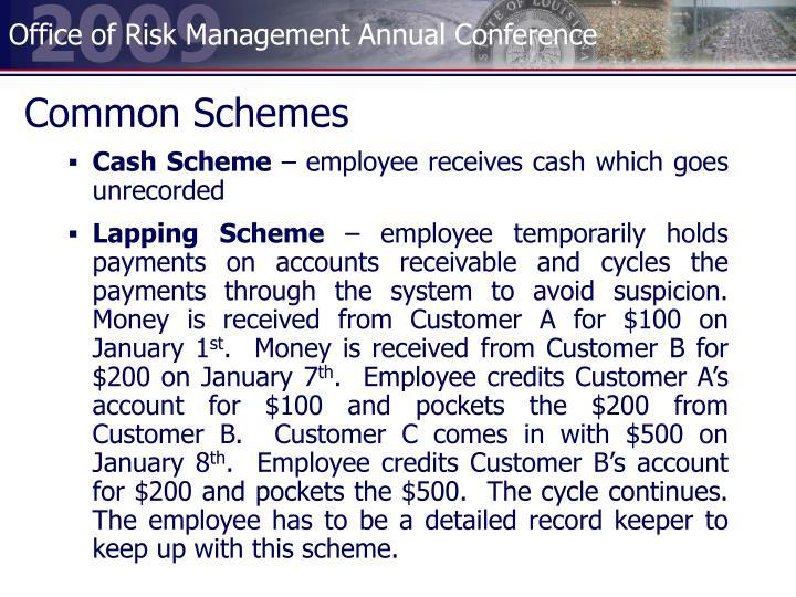 Common Schemes