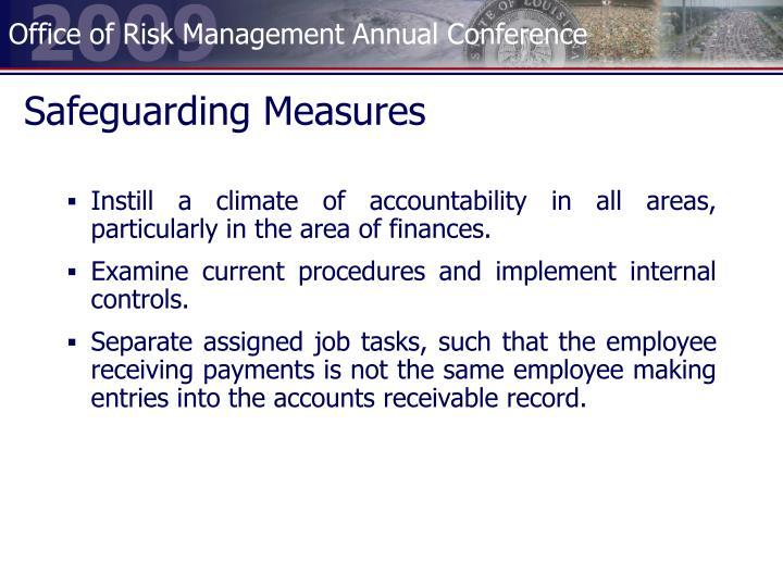 Safeguarding Measures