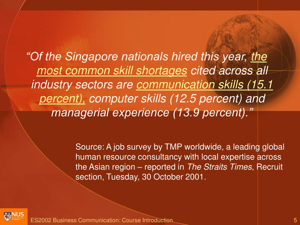 """Of the Singapore nationals hired this year,"