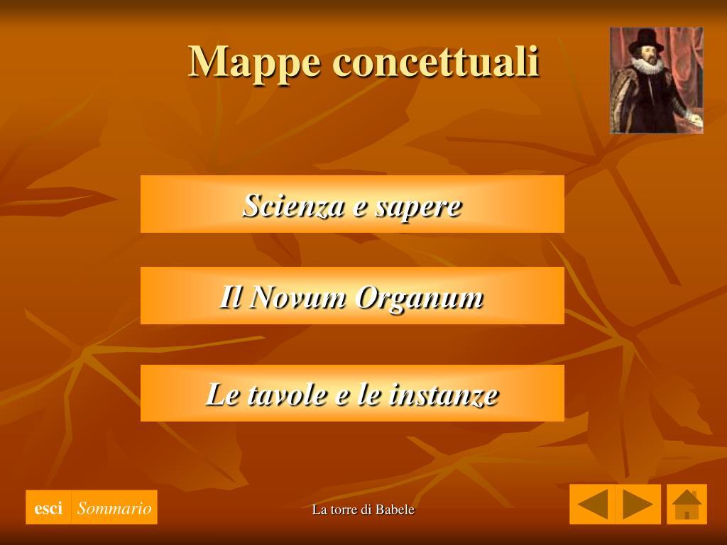 Mappe concettuali