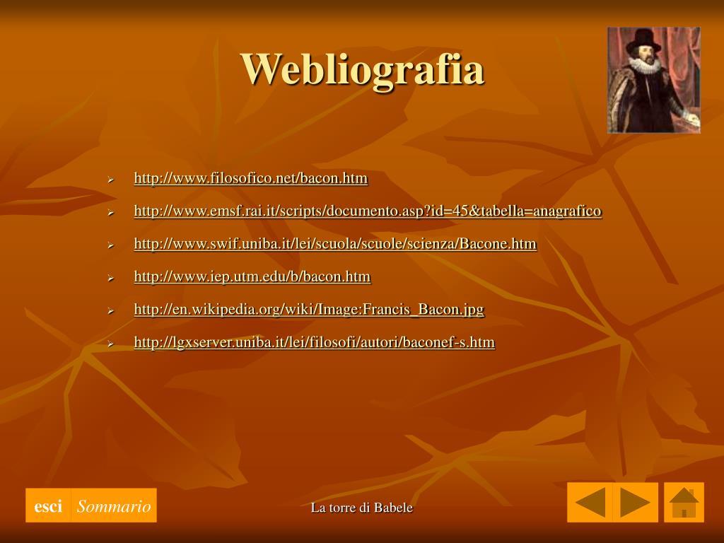 Webliografia
