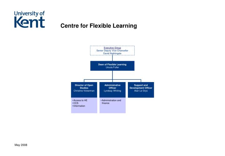 Centre for flexible learning