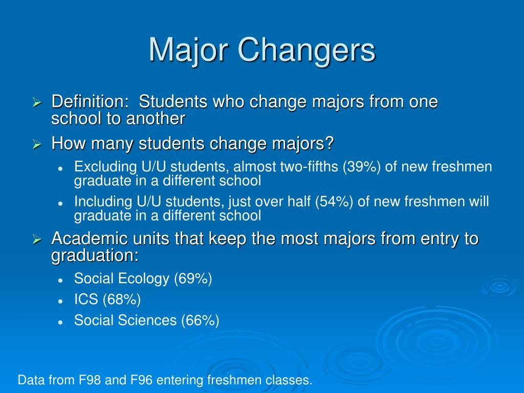 Major Changers
