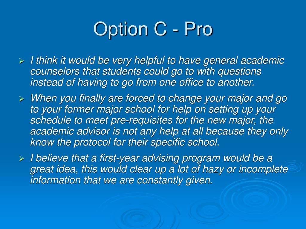 Option C - Pro