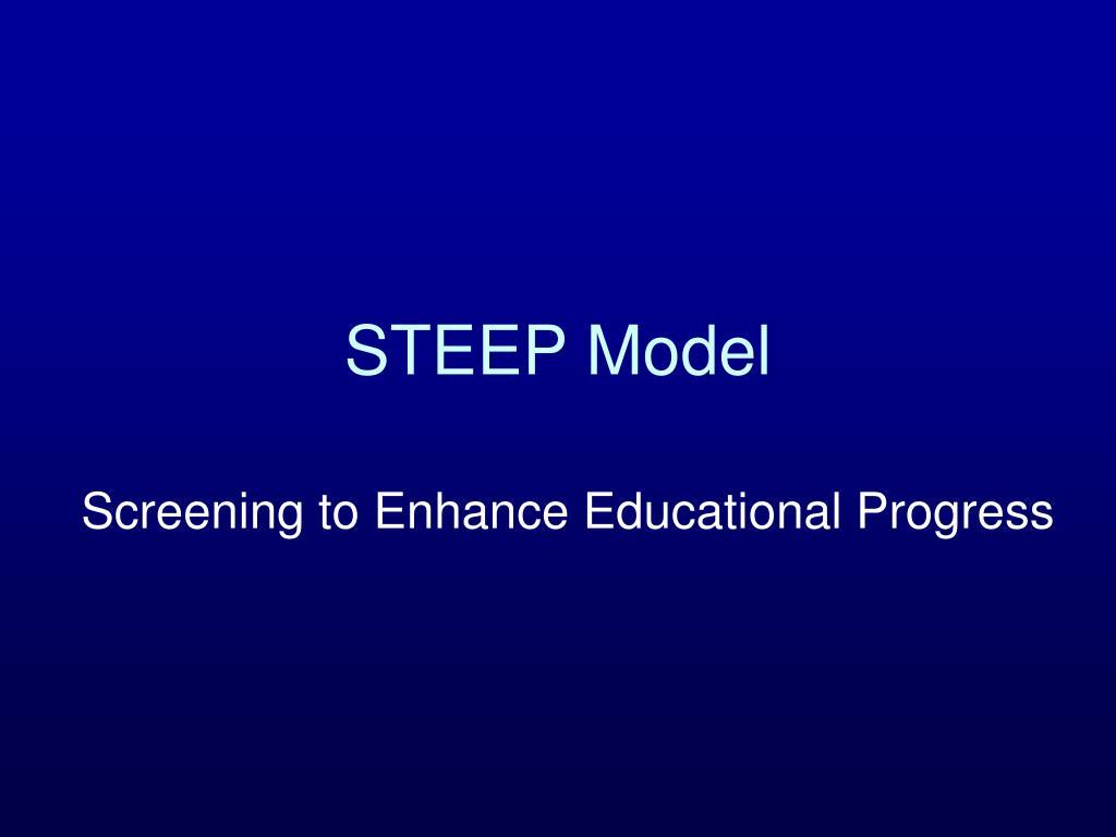 STEEP Model