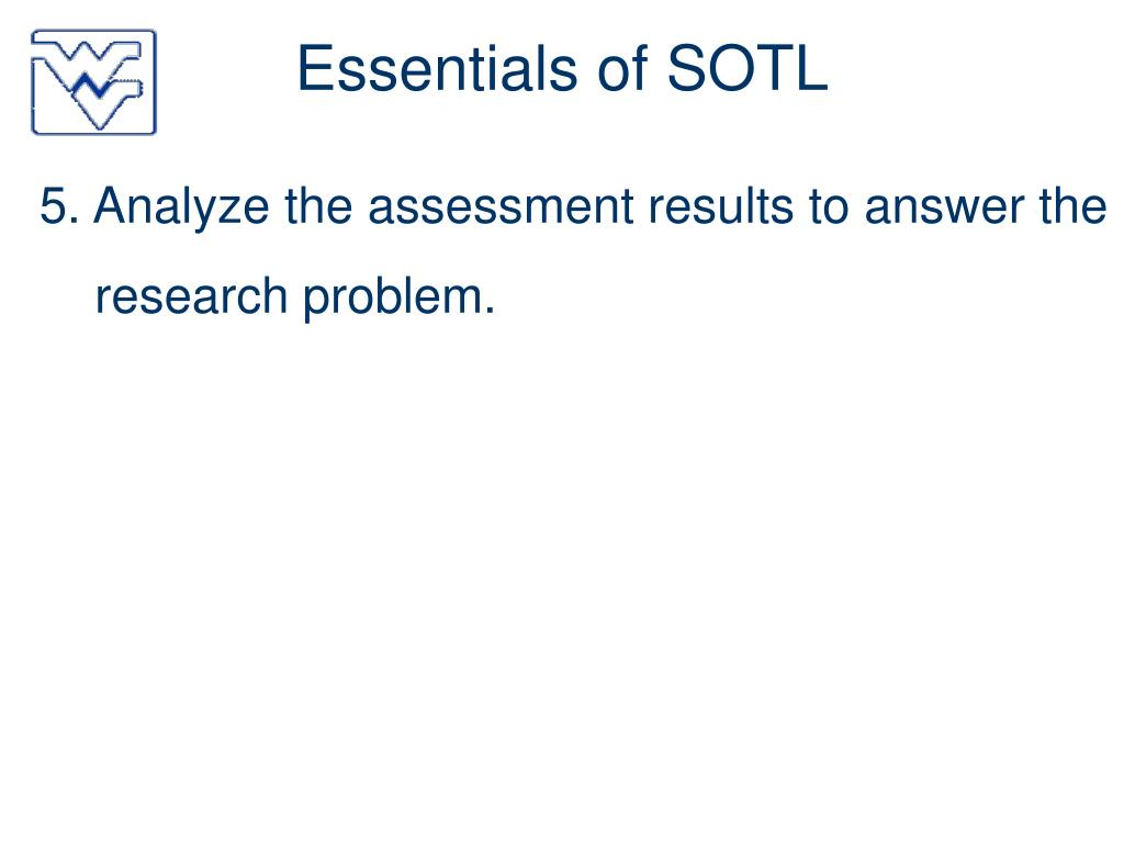 Essentials of SOTL