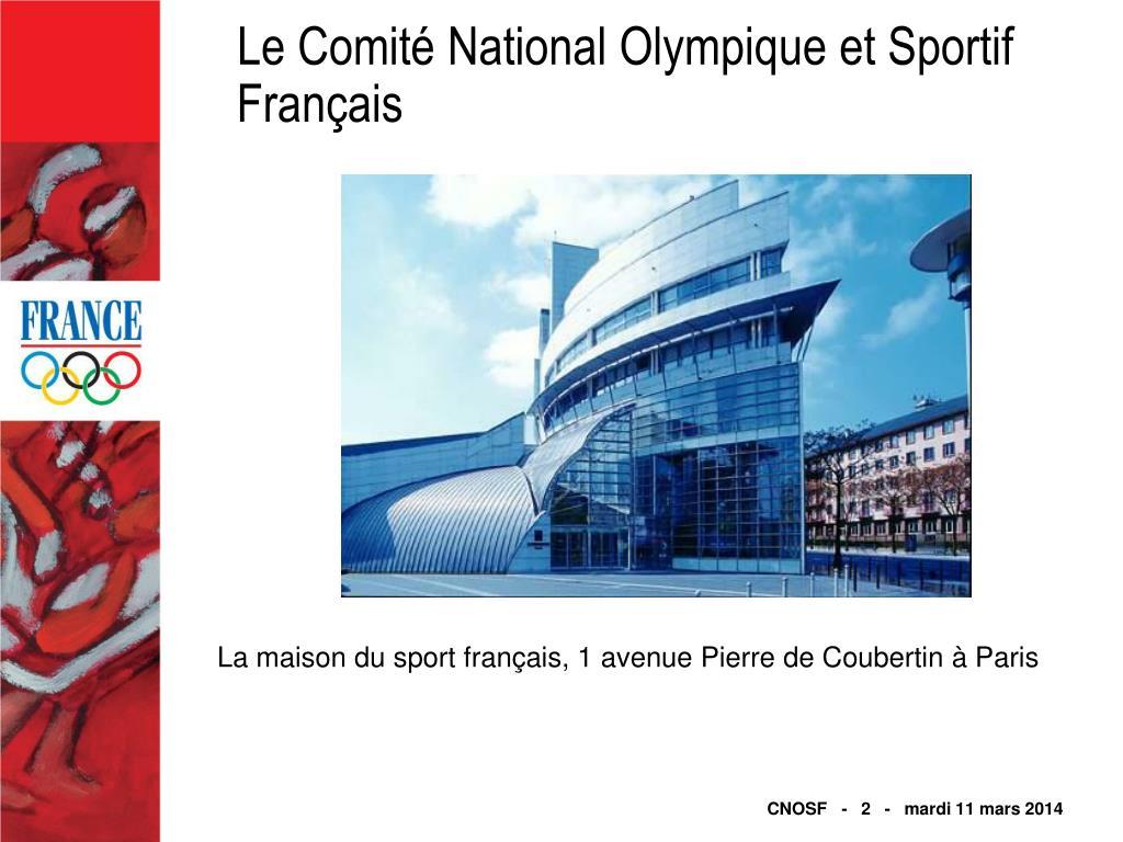Le Comité National Olympique et Sportif Français