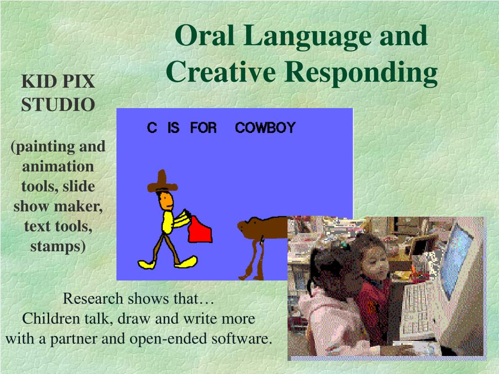 Oral Language and