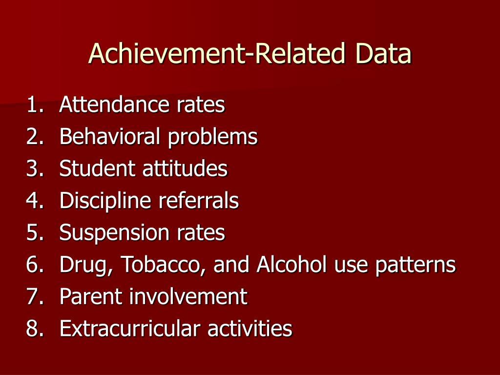 Achievement-Related Data