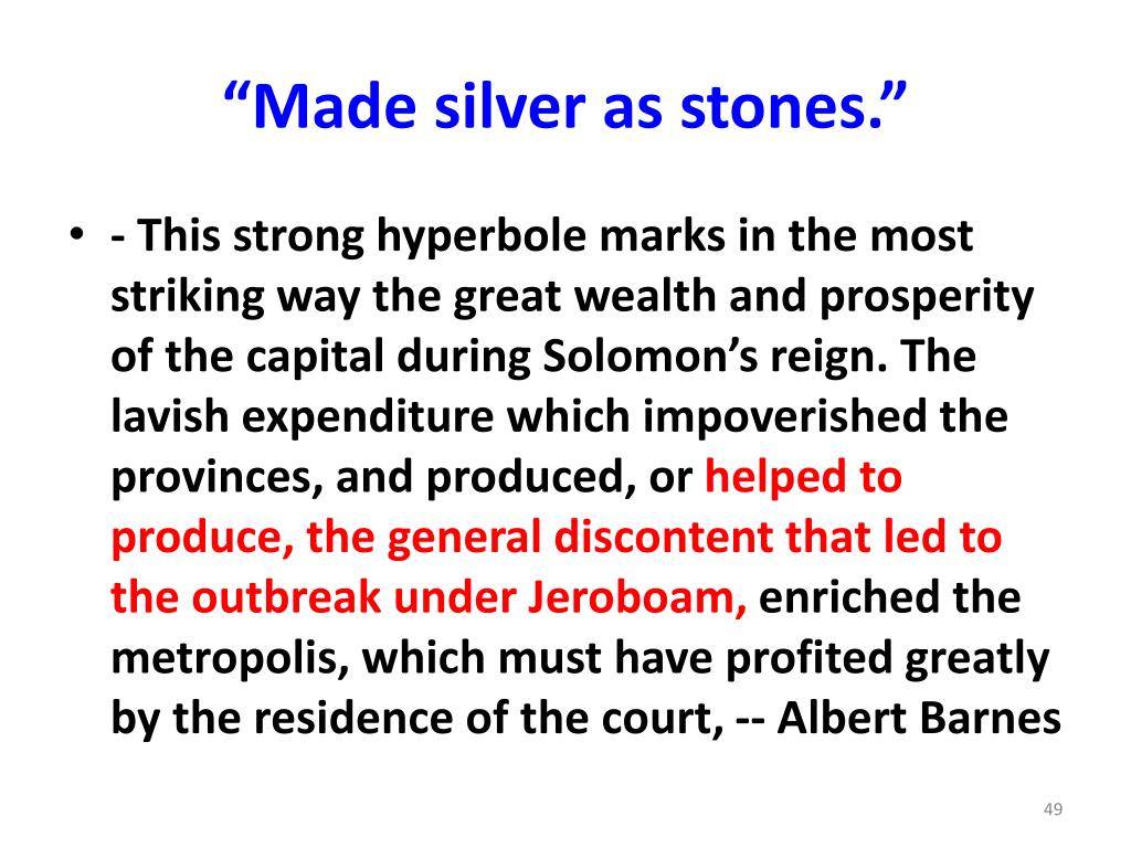 """""""Made silver as stones."""""""