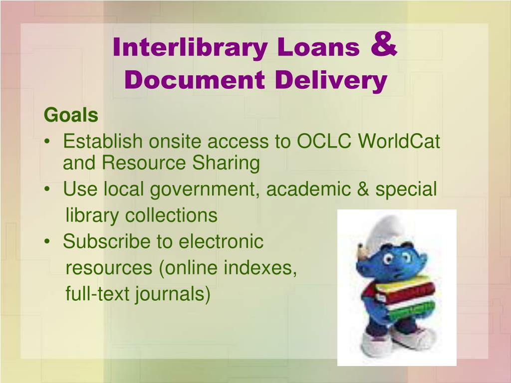 Interlibrary Loans
