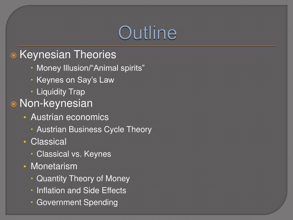 classical model vs keynes theroy essay • both keynes and the classical  the classical economics theory is based  let us now see how all the markets come together in the classical economics model.
