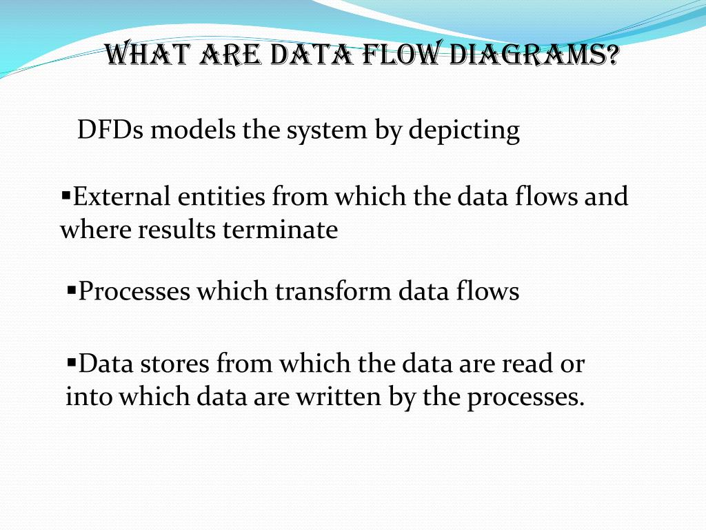 WHAT ARE DATA FLOW DIAGRAMS?