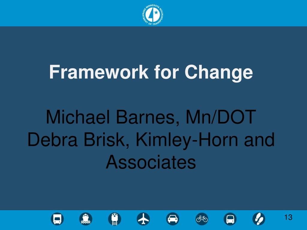 Framework for Change