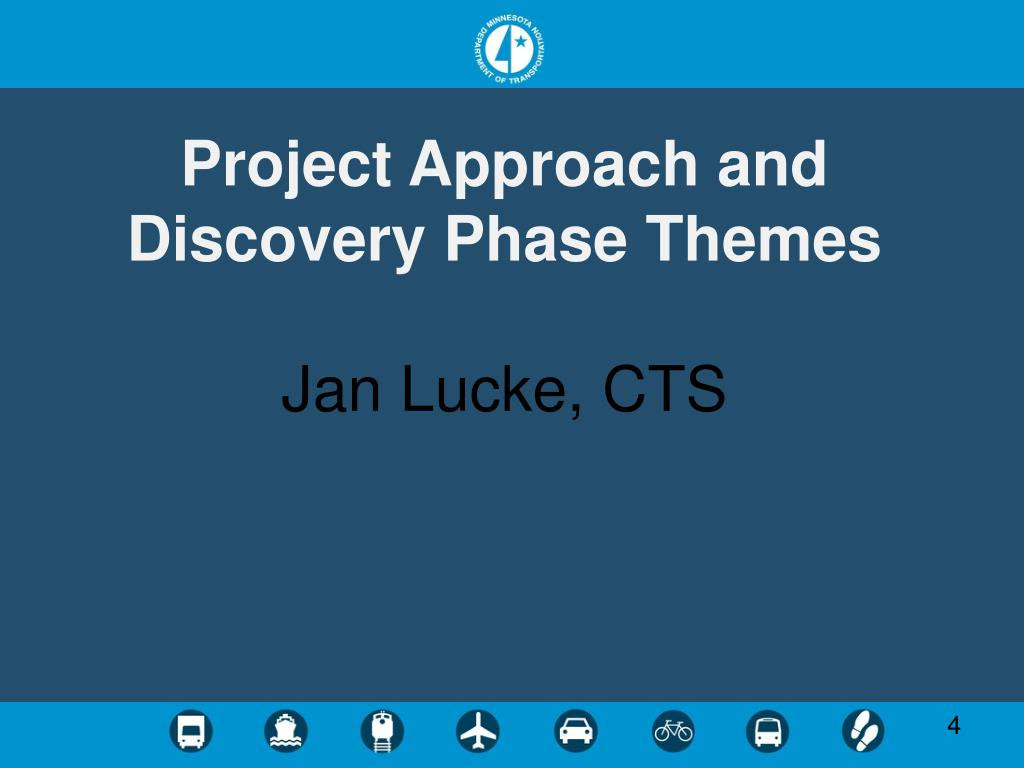 Project Approach and