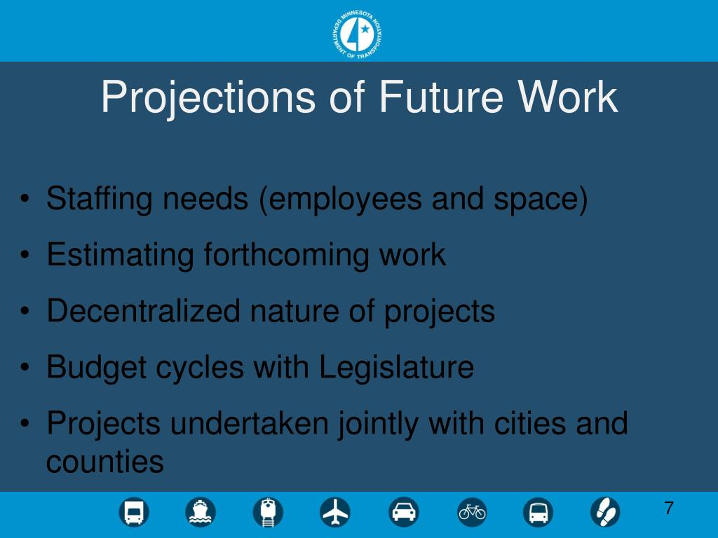 Projections of Future Work