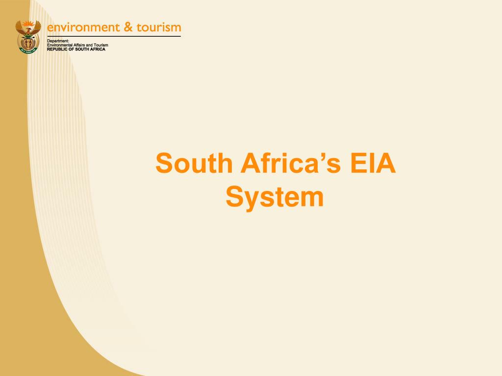 South Africa's EIA System