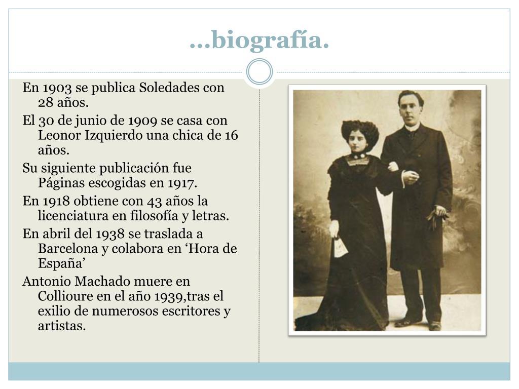 …biografía.