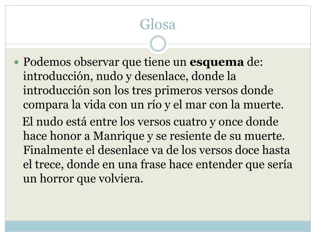 Glosa