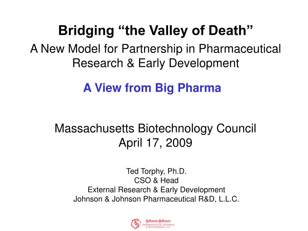 A View from Big Pharma