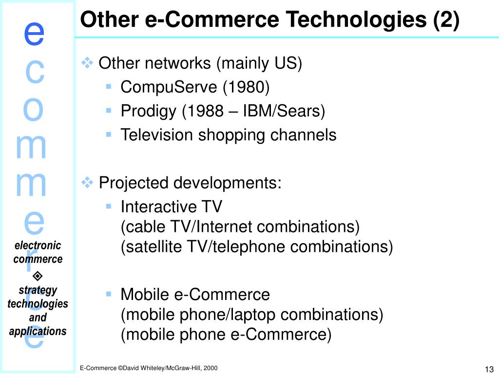 Other e-Commerce Technologies (2)