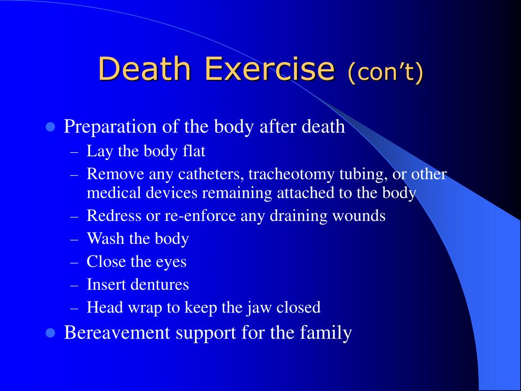 Death Exercise