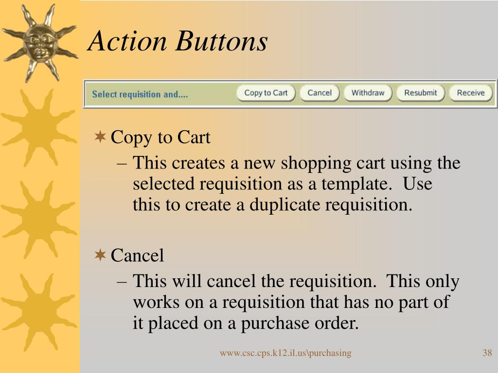 Action Buttons