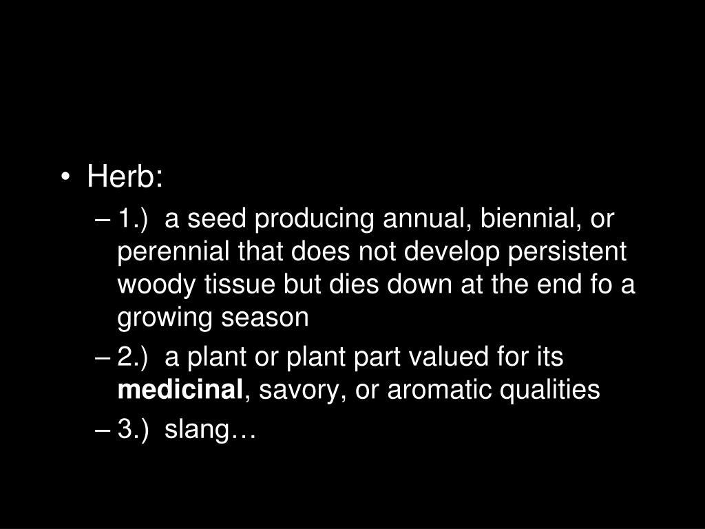 Herb: