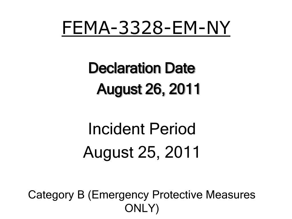 FEMA-3328-EM-NY