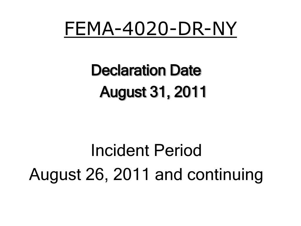 FEMA-4020-DR-NY