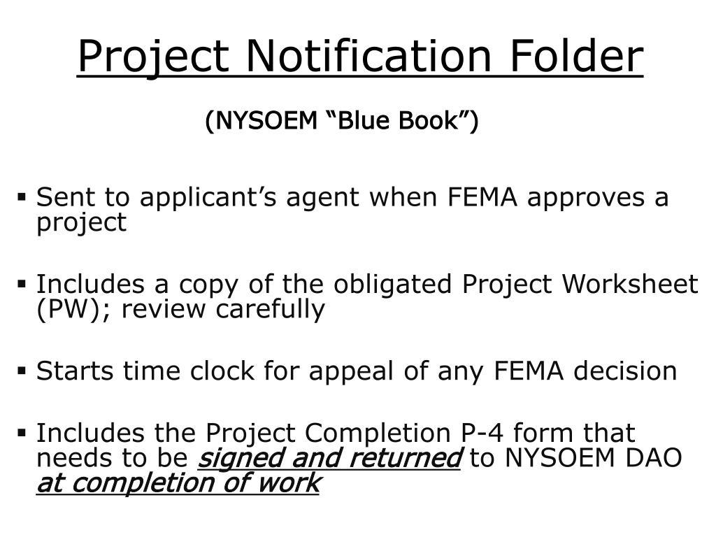 Project Notification Folder