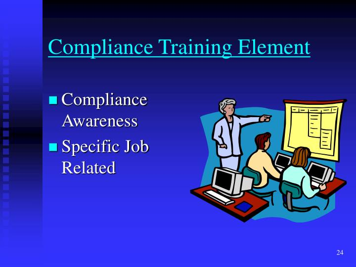 Compliance Training Element