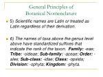 general principles of botanical nomenclature47