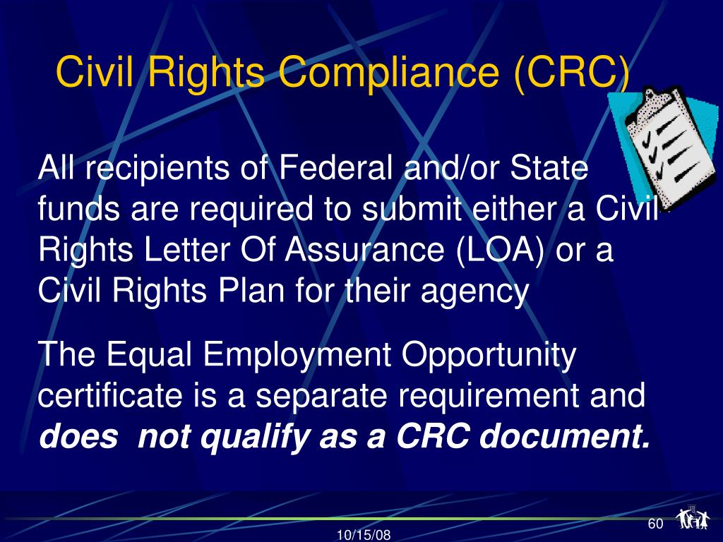 Civil Rights Compliance (CRC)