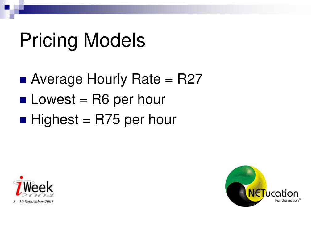Pricing Models