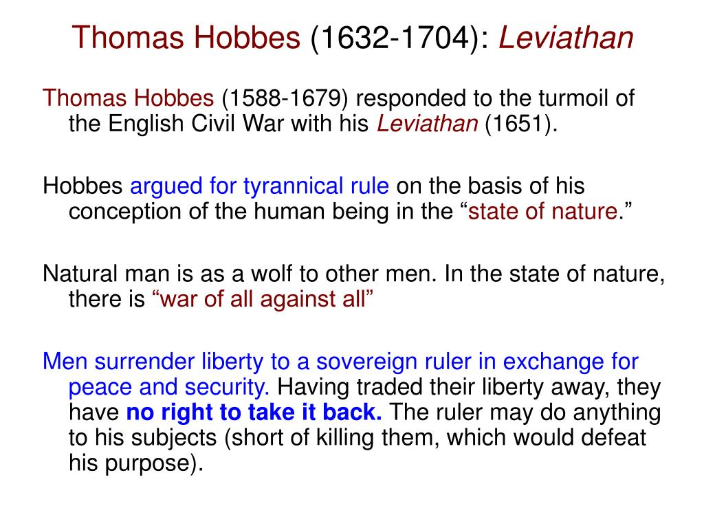 the basis of thomas hobbes conception of the state of nature According to hobbes, the lives of individuals in the state of nature were solitary, poor, nasty, brutish and short, a state in which self-interest and the absence of rights and contracts prevented the social, or society life was anarchic (without leadership or the concept of sovereignty).