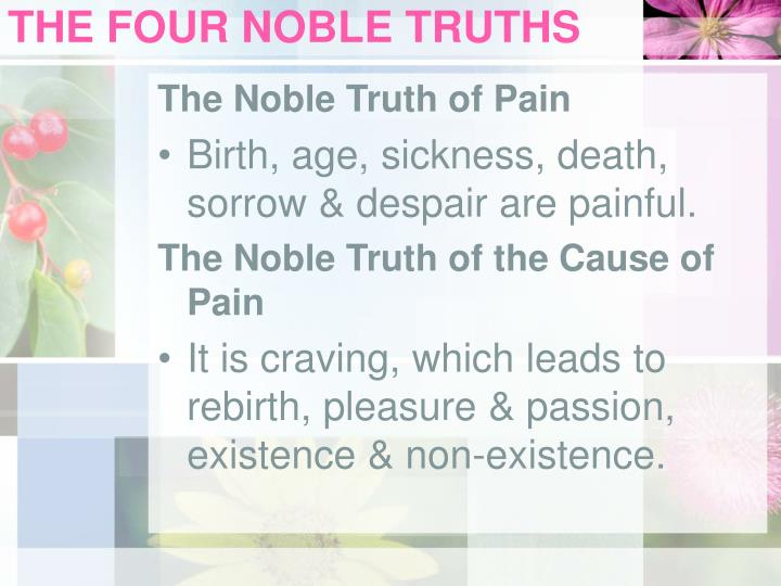 The four noble truths3