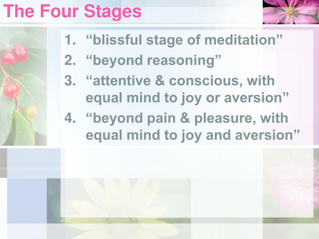 The Four Stages