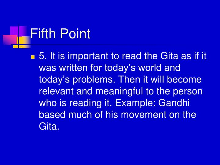 Fifth Point
