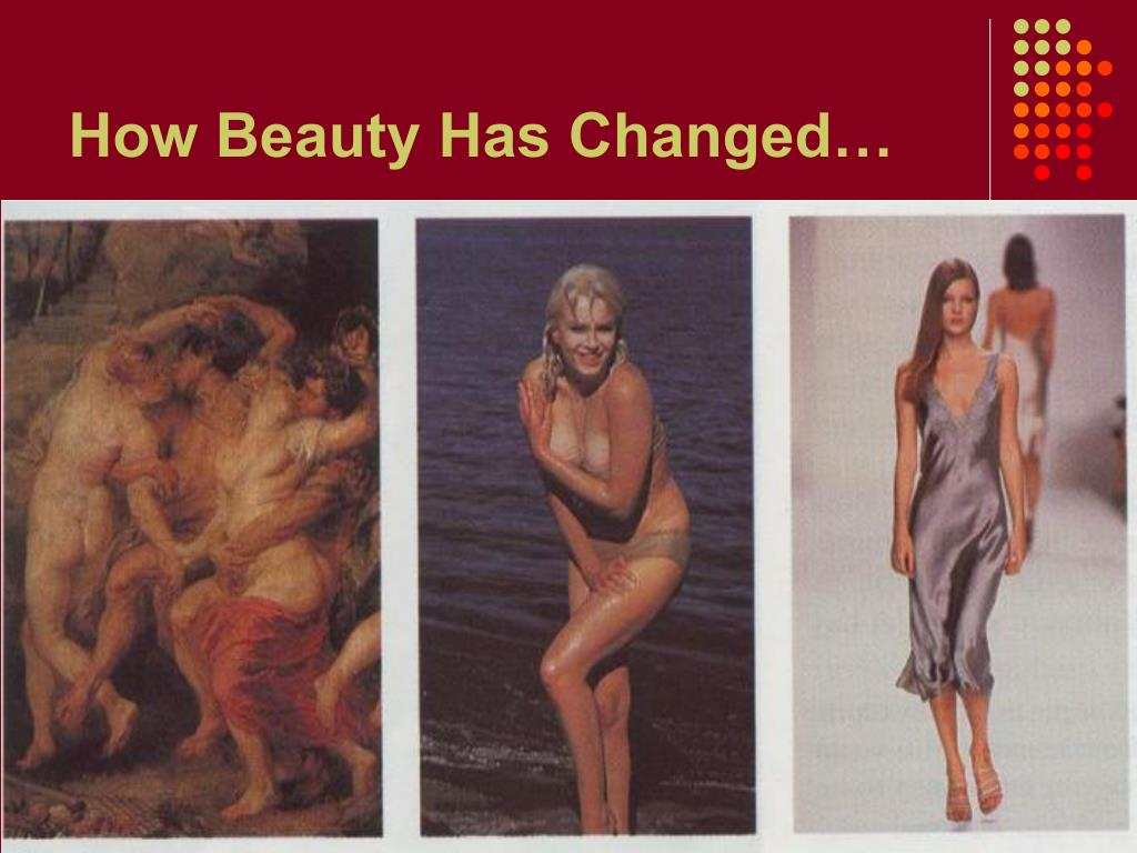 How Beauty Has Changed…