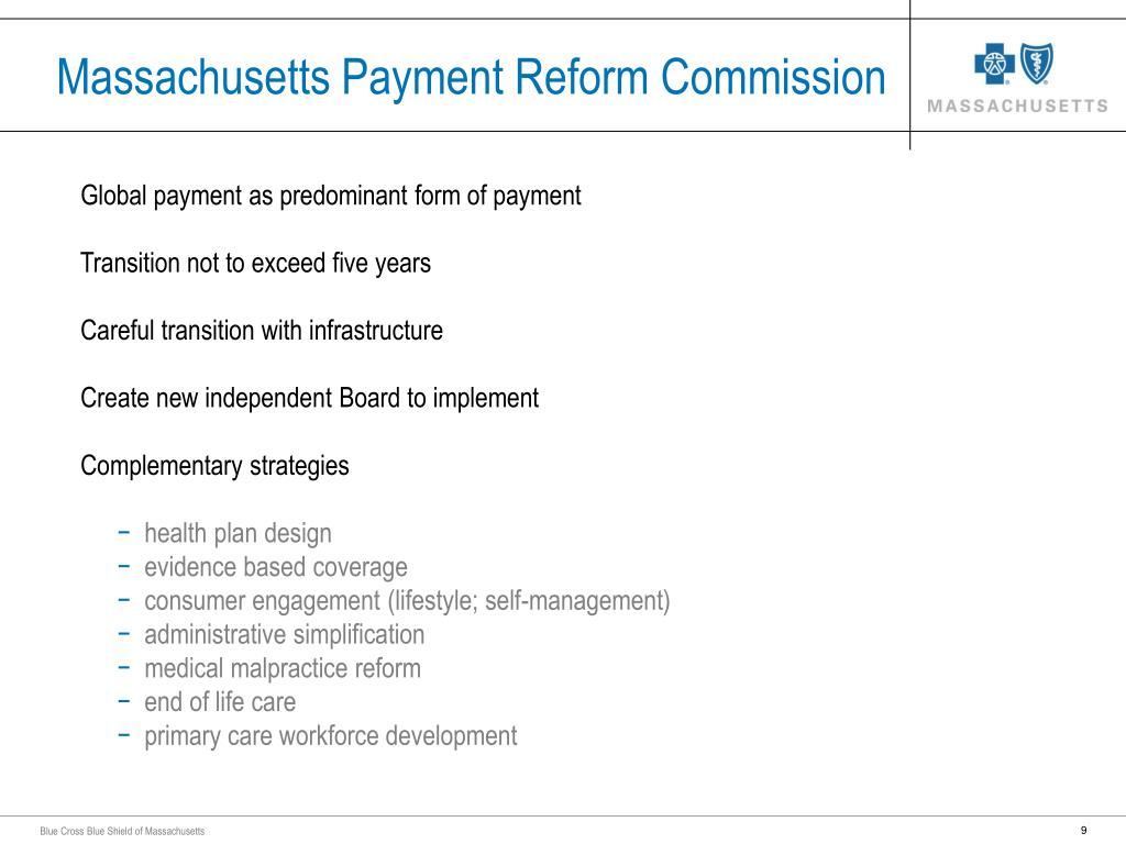 Massachusetts Payment Reform Commission
