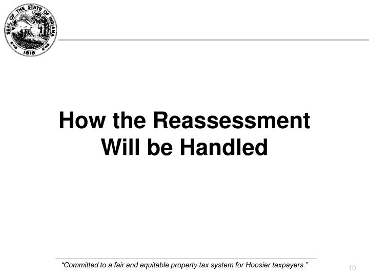 How the Reassessment