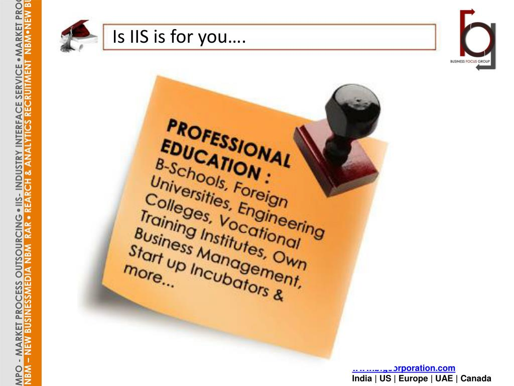 Is IIS is for you….