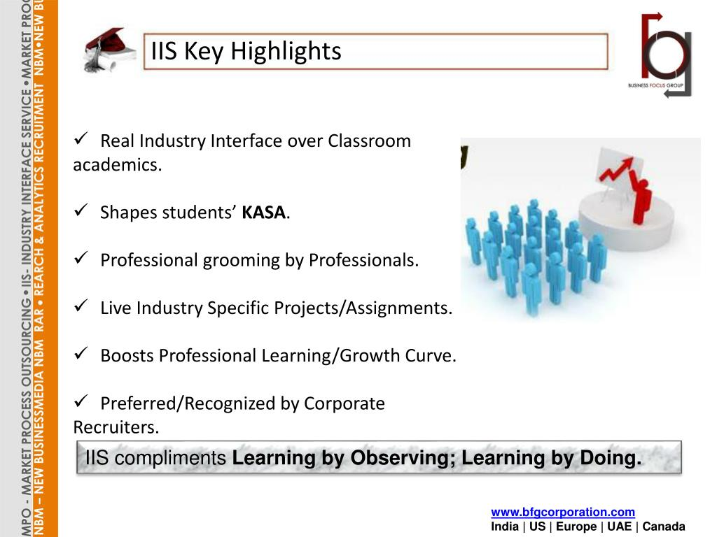 IIS Key Highlights