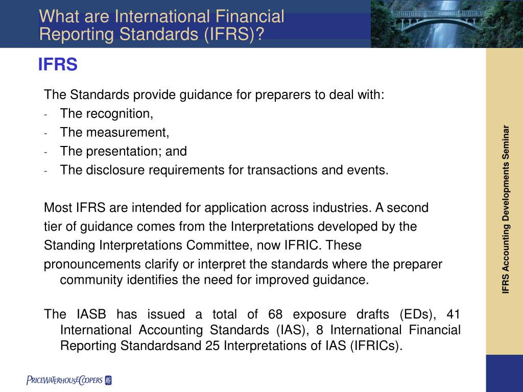 the financing of the iasb an