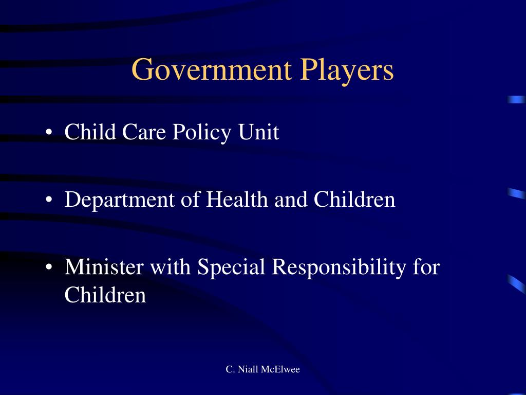 Government Players
