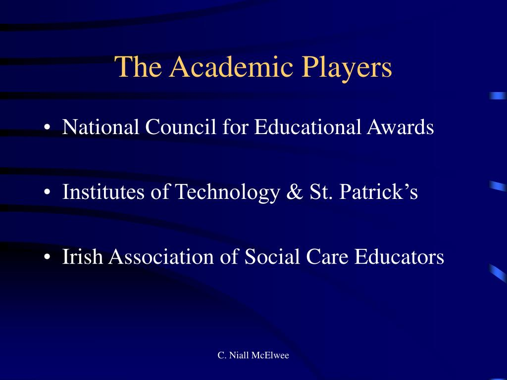 The Academic Players